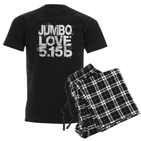 Jumbo Love 5.15b Men's Dark Pajamas