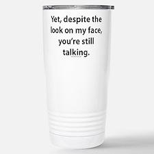 myface.png Travel Mug