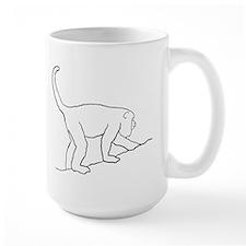 Walking Monkey. Ceramic Mugs
