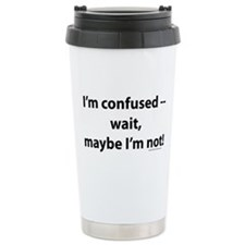 confused.png Travel Coffee Mug