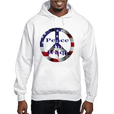 Peace Symbol Peace In Iraq Hoodie