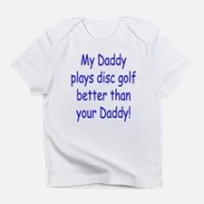 Cute Disc golf Infant T-Shirt