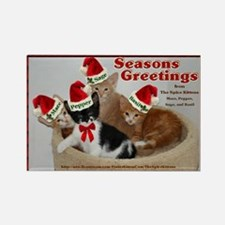 Seasons Greetings from The Spice Kittens Rectangle