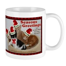 Seasons Greetings from The Spice Kittens Mug