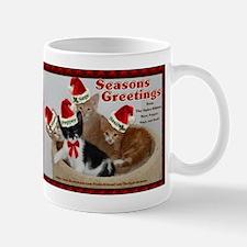 Seasons Greetings from The Spice Kittens Mug