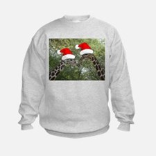 Christmas Giraffes Sweatshirt