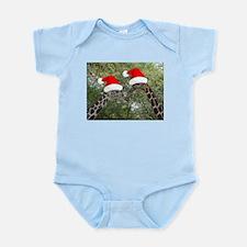 Christmas Giraffes Infant Bodysuit