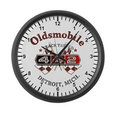 Oldsmobile 442 Muscle Large Wall Clock