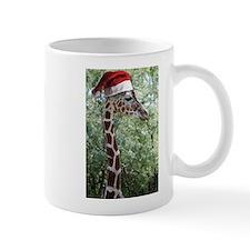 Christmas Giraffe Mug