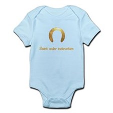 Saint under instruction Infant Bodysuit