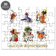 Alice and Friends in Wonderland Puzzle