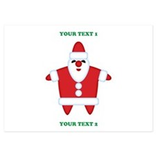 Custom Funny Santa Invitations