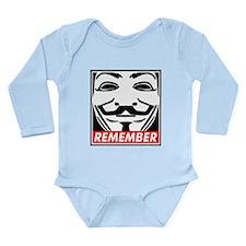 Remember Long Sleeve Infant Bodysuit