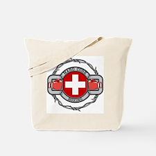 Switzerland Boxing Tote Bag