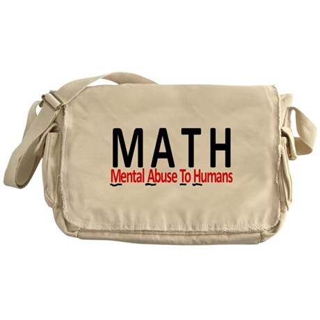 Mental Math Messenger Bag
