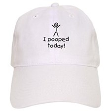 I Pooped Today Silly Cap