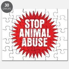 Stop Animal Abuse Puzzle