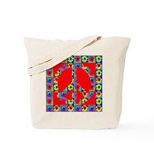 Peace Symbol Blackeyes Susans Tote Bag
