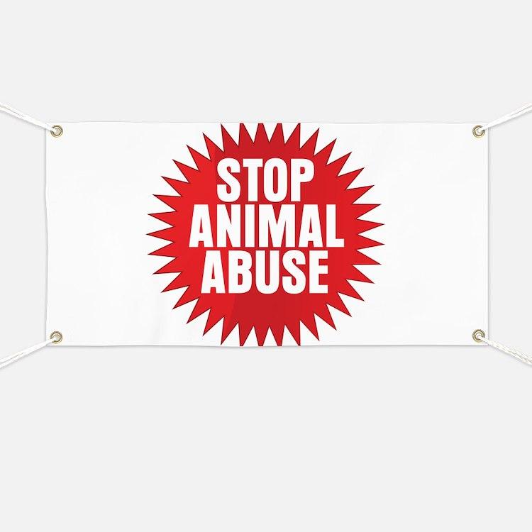 Stop Animal Abuse Banner