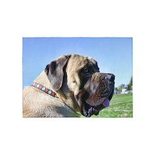 English Mastiff 5'x7'Area Rug