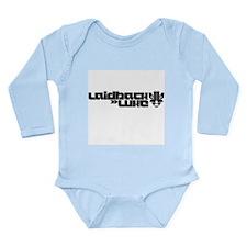 Laidback Luke Long Sleeve Infant Bodysuit