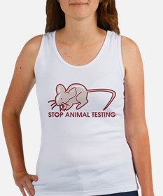 Stop Animal Testing Women's Tank Top