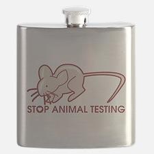 Stop Animal Testing Flask