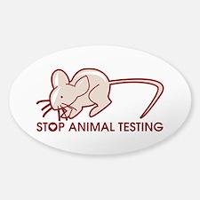 Stop Animal Testing Decal