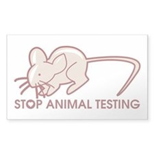 Stop Animal Testing Decal
