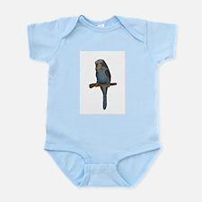 Blue Budgie Art Infant Bodysuit
