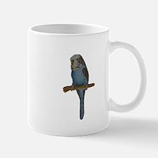 Blue Budgie Art Mug