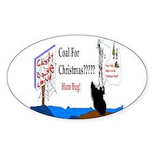 Christmas Coal Decal
