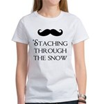 'Staching Through the Snow Women's T-Shirt