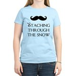 'Staching Through the Snow Women's Light T-Shirt