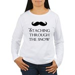 'Staching Through the Women's Long Sleeve T-Shirt