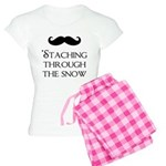 'Staching Through the Snow Women's Light Pajamas