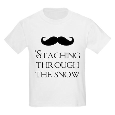 'Staching Through the Snow Kids Light T-Shirt