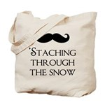 'Staching Through the Snow Tote Bag