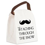 'Staching Through the Snow Canvas Lunch Bag