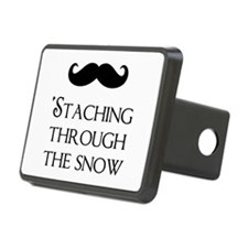 'Staching Through The Snow Hitch Cover
