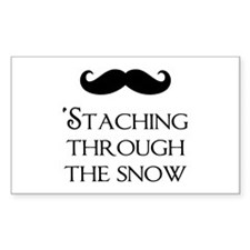 'Staching Through The Snow Decal