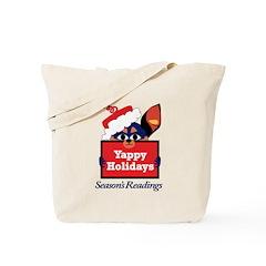 Santa Dog Tote Bag