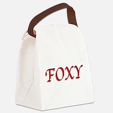 FoxyT.png Canvas Lunch Bag
