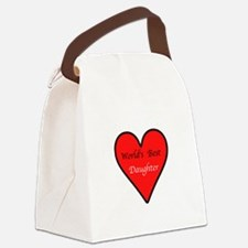 heartbestdaughterB.png Canvas Lunch Bag