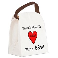 MoreBBWheart2T.png Canvas Lunch Bag