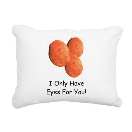 EyesForYouMug.png Rectangular Canvas Pillow