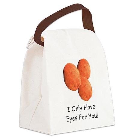 EyesForYouMug.png Canvas Lunch Bag