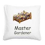 Master Gardener Square Canvas Pillow
