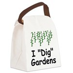 IDig.png Canvas Lunch Bag