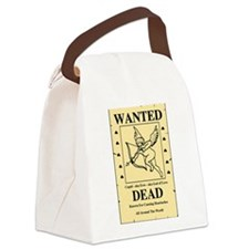 WantedCupidSP.png Canvas Lunch Bag